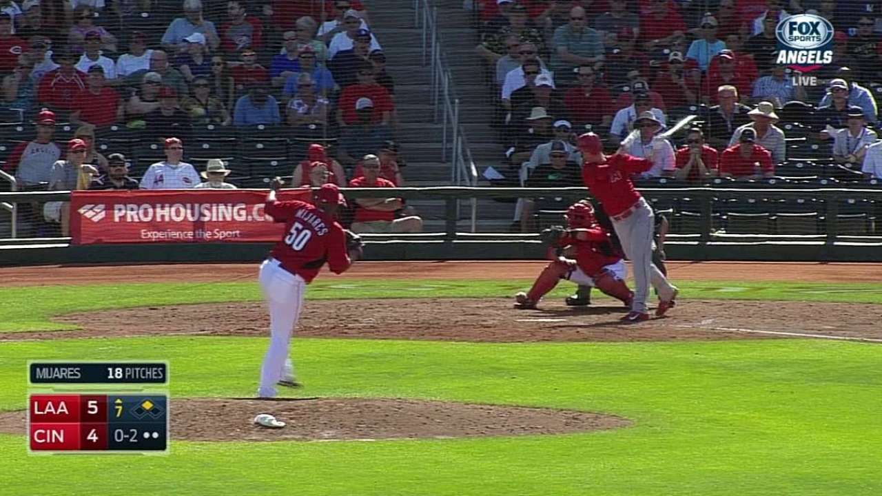 Reds release Mijares, option 3 to Triple-A