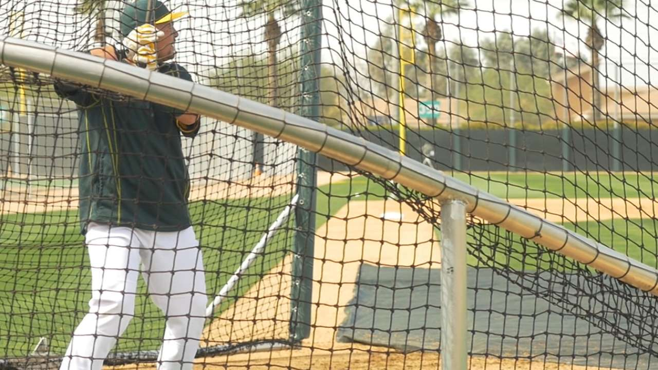 Melvin thrilled with A's infield defensive makeover