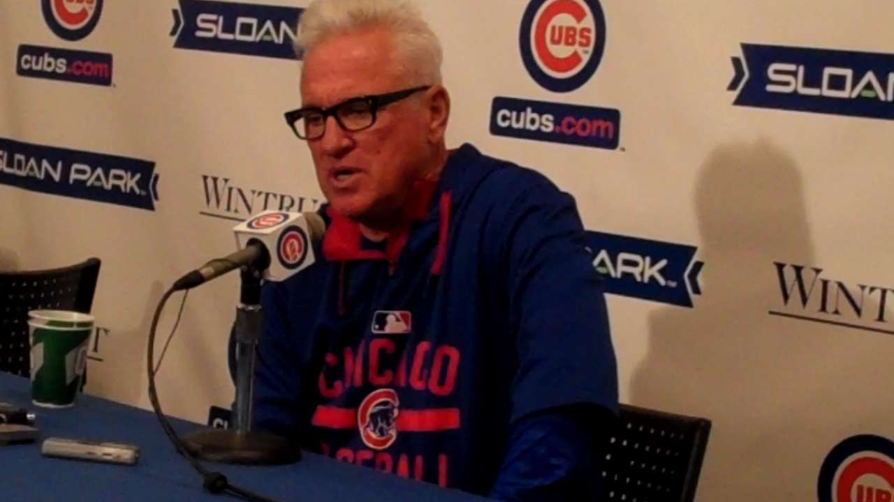 Maddon on top prospect Bryant