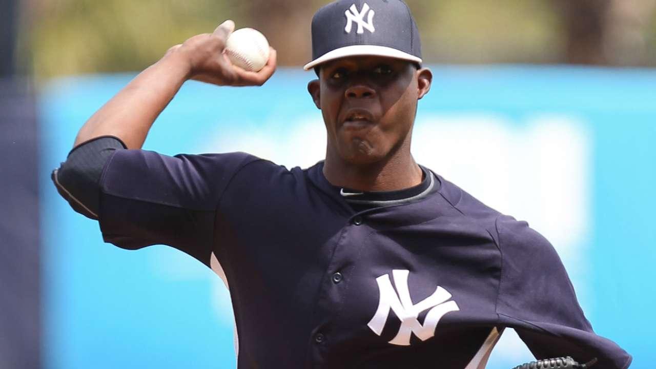 Yankees option RHP Ramirez to Triple-A