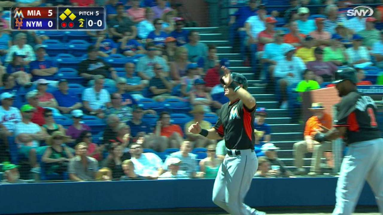 Marlins pour it on Mets behind sharp Phelps