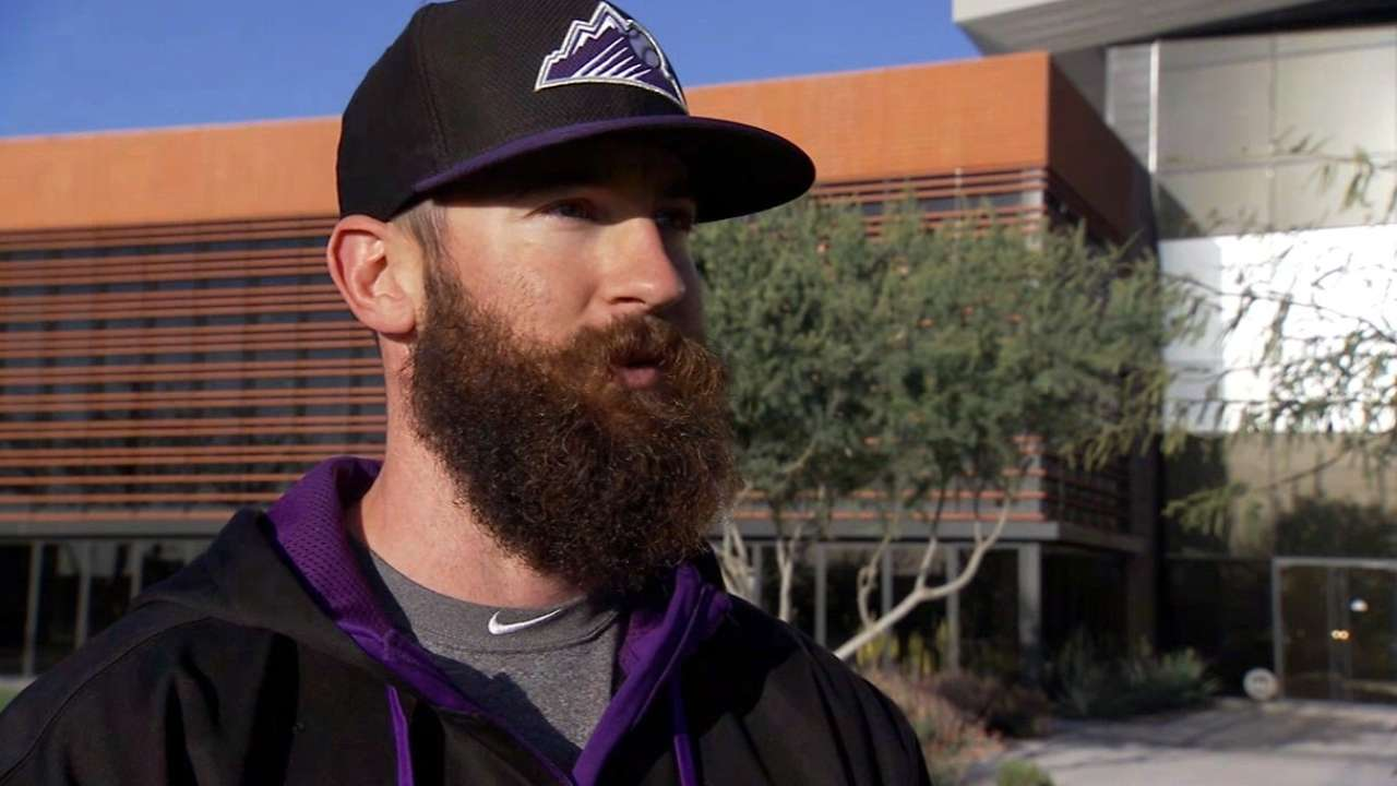 Blackmon on playing at Coors