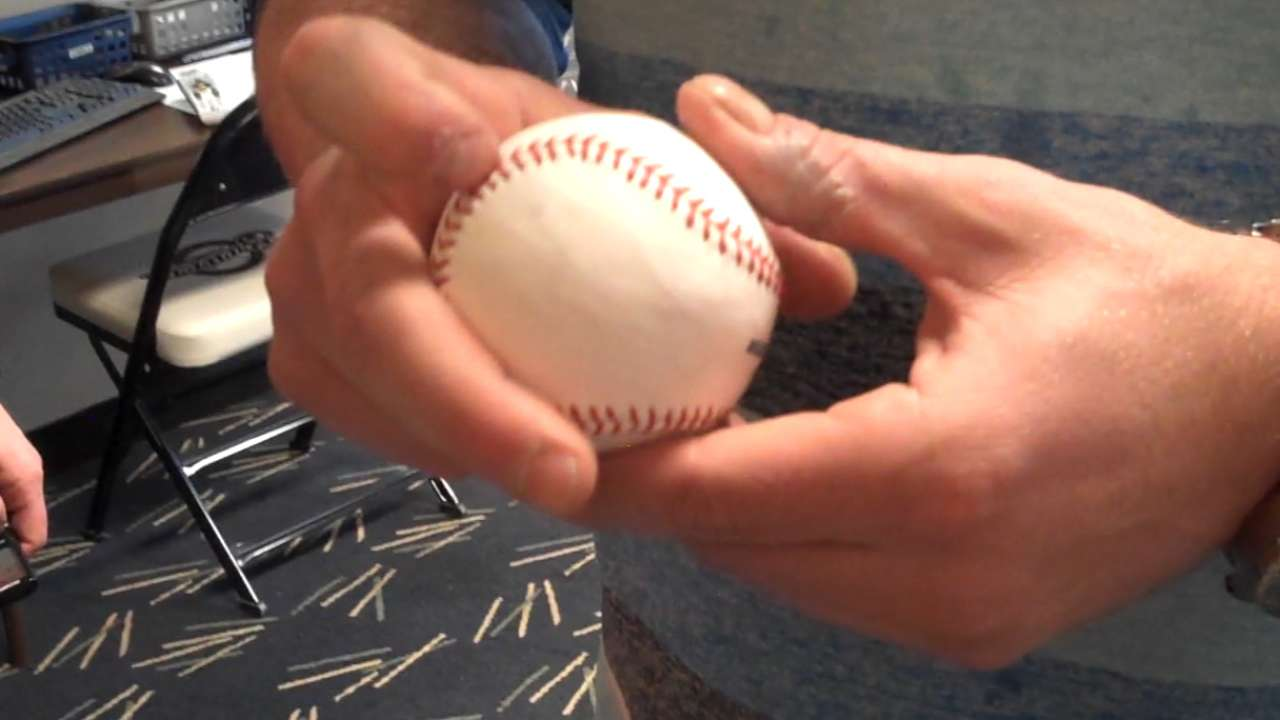 Nelson debuts new curveball in spring outing