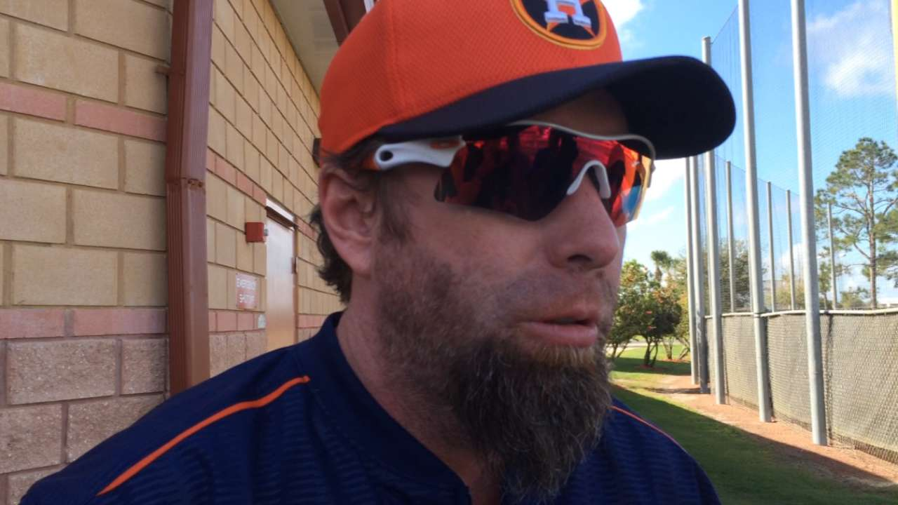 Bagwell lending helping hand at Astros camp