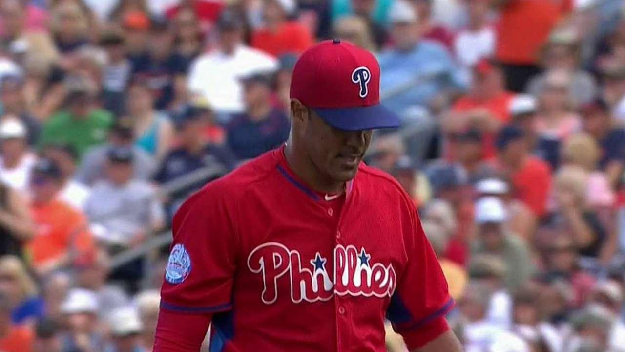 Uneven Gonzalez still has time to win rotation spot