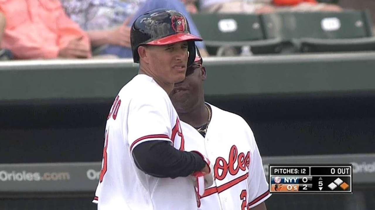 Machado does it all against rival Yankees