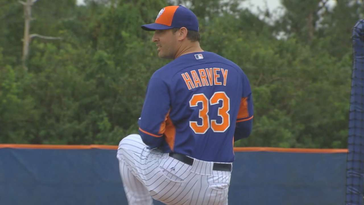 Must-see Harvey can place Mets in postseason conversation
