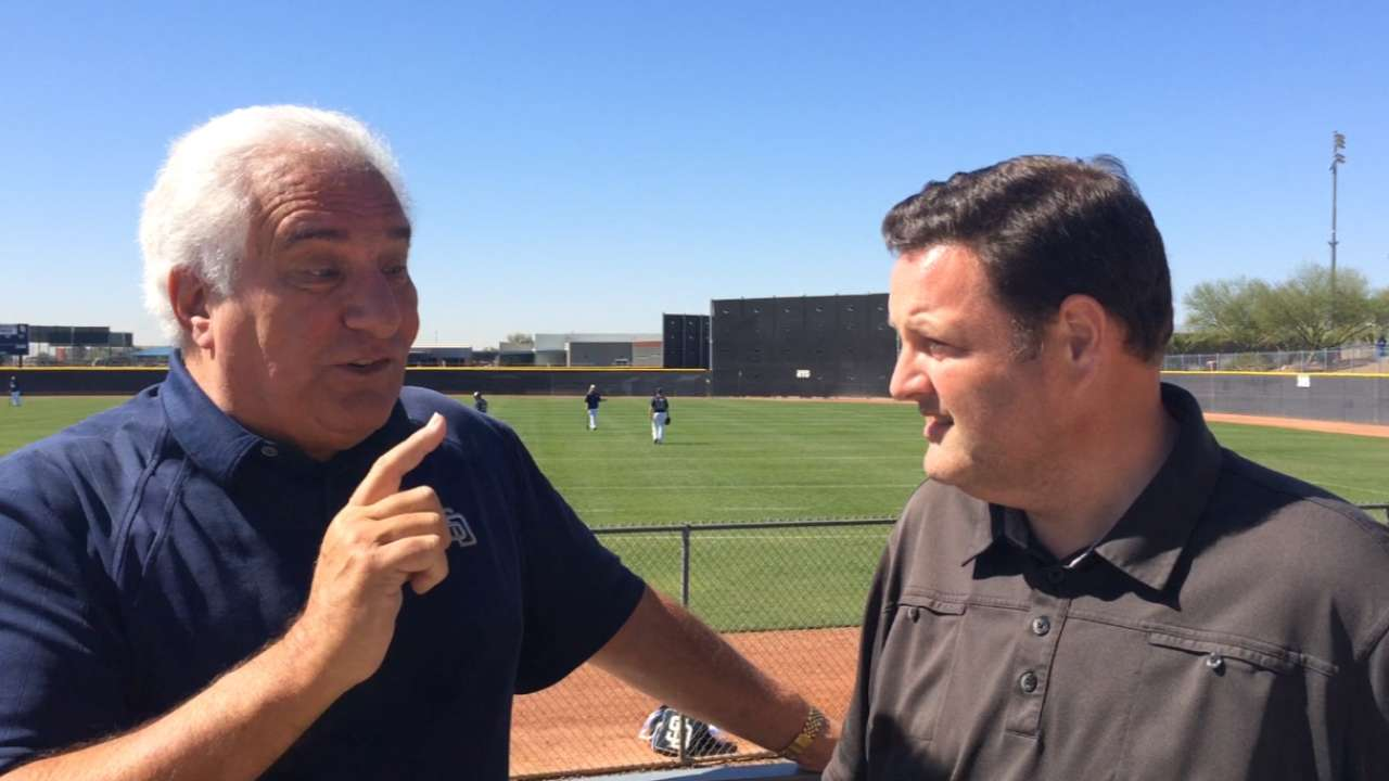 Leitner astonished by Padres' transformation