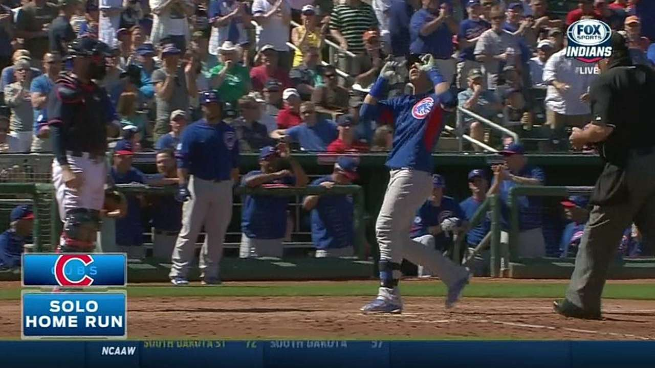 Castro trying to help Baez gain confidence