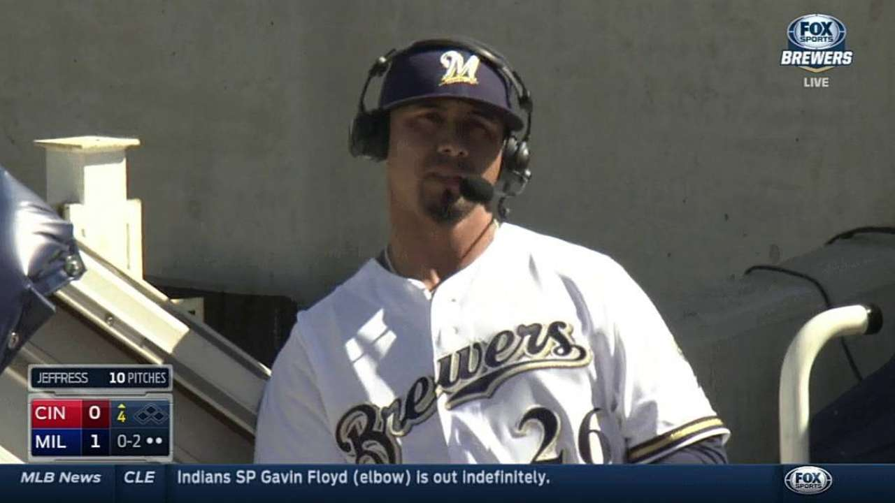 Lohse builds case for opener start as Brewers best Reds