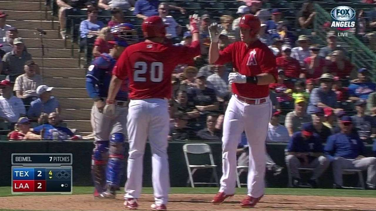 Cron, Krauss belt two-run homers as Angels rally past Texas