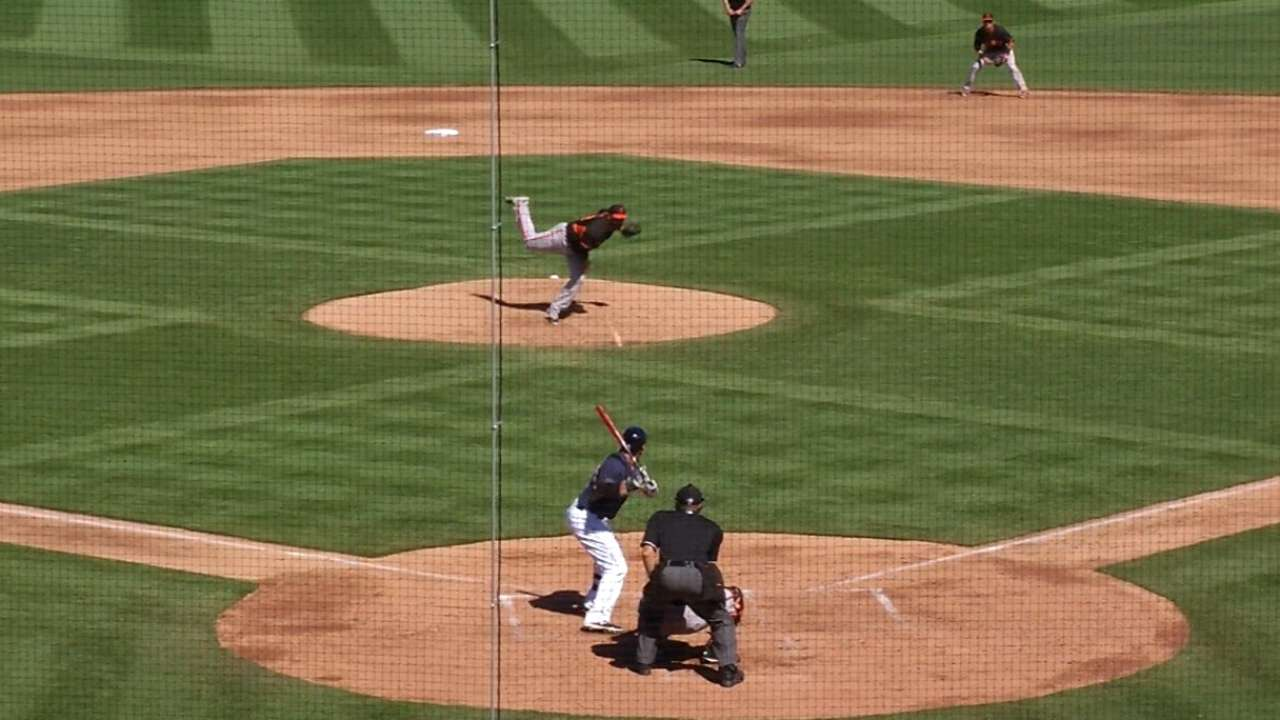 Middlebrooks' long home run