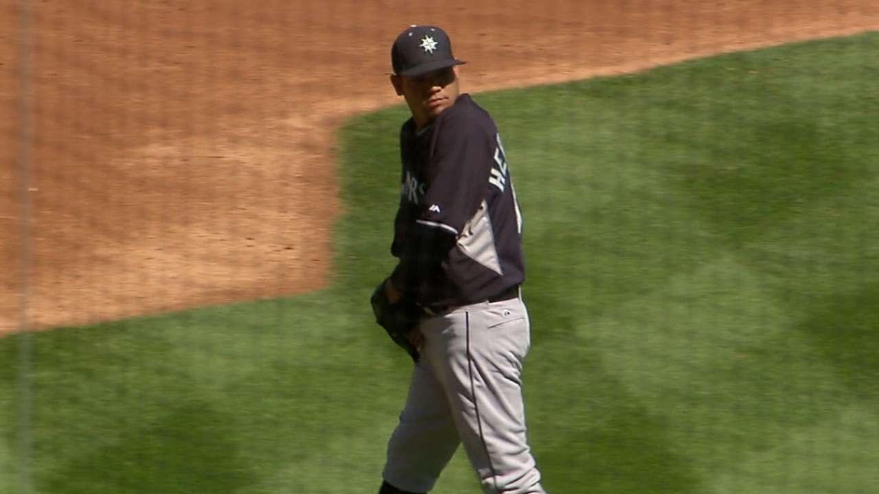 Felix ready to lead Mariners to promised land
