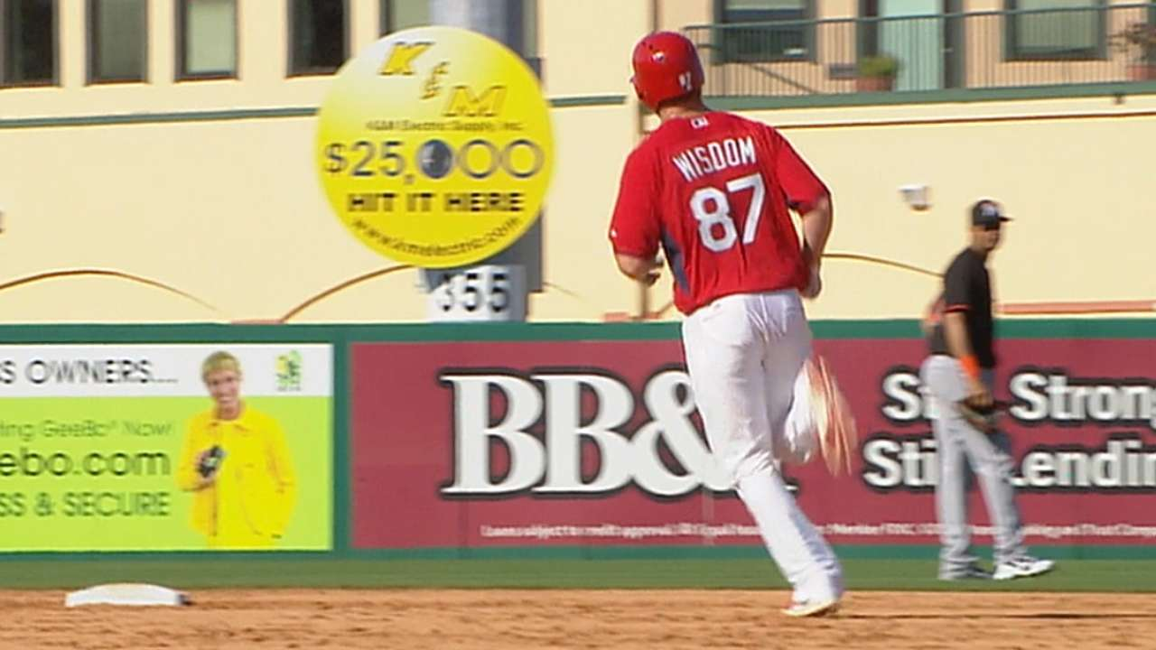 Cards' Wisdom rakes in AFL offensive break out