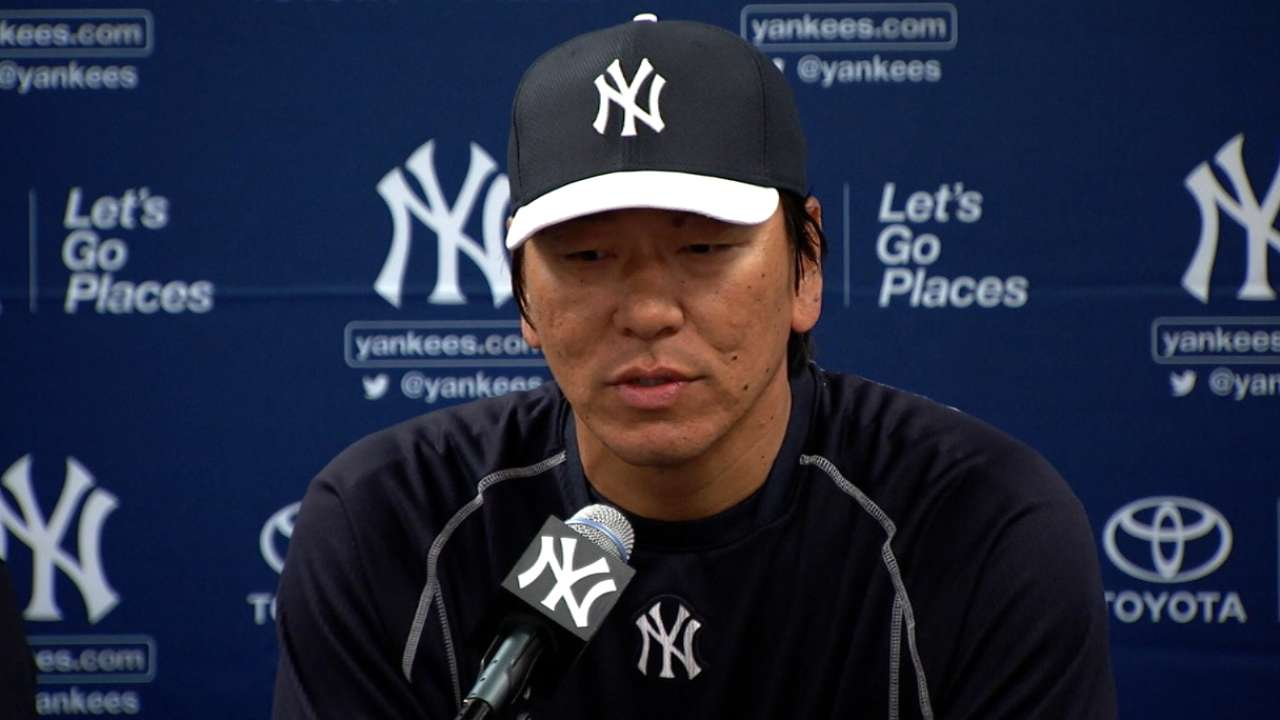 Matsui back in pinstripes as special advisor