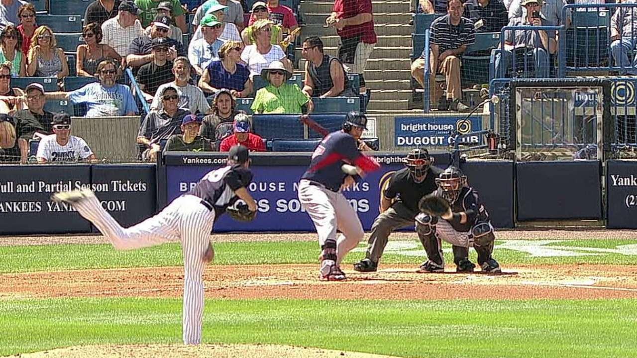 Shaw's line-drive homer