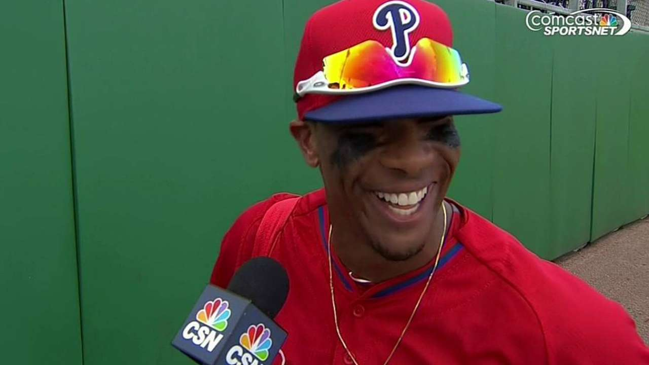 Ryno says small ball will be necessity for Phillies