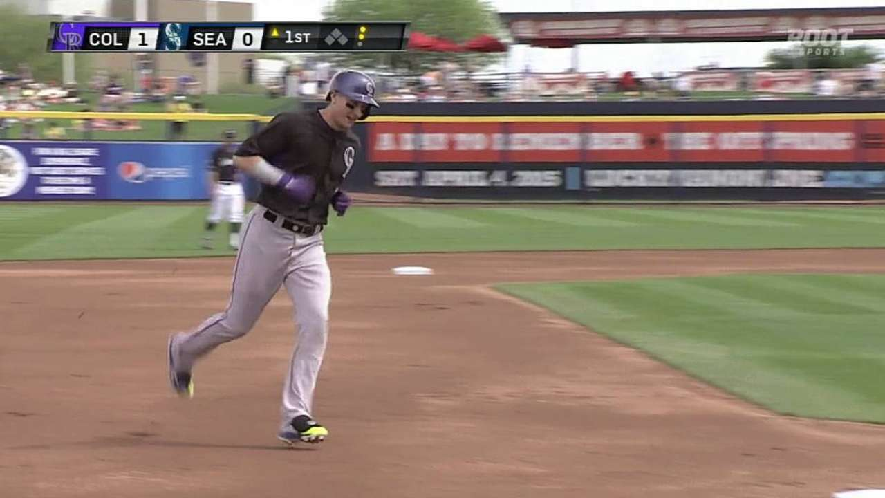 Tulo homers as Rockies ease past Mariners
