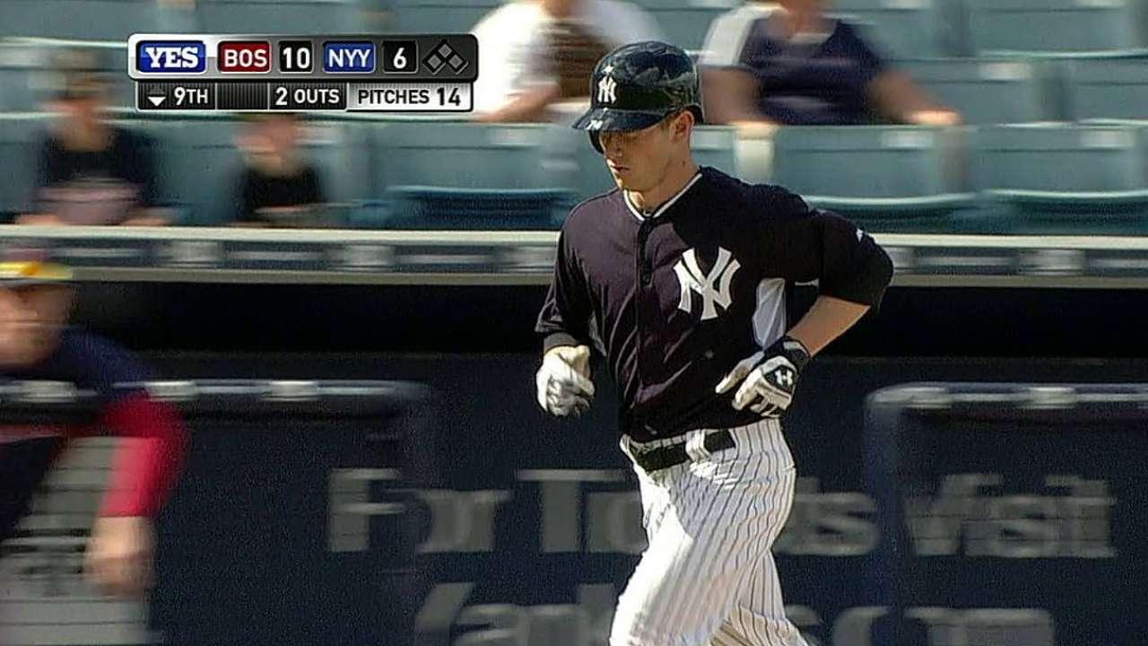 Heathcott's two-run home run