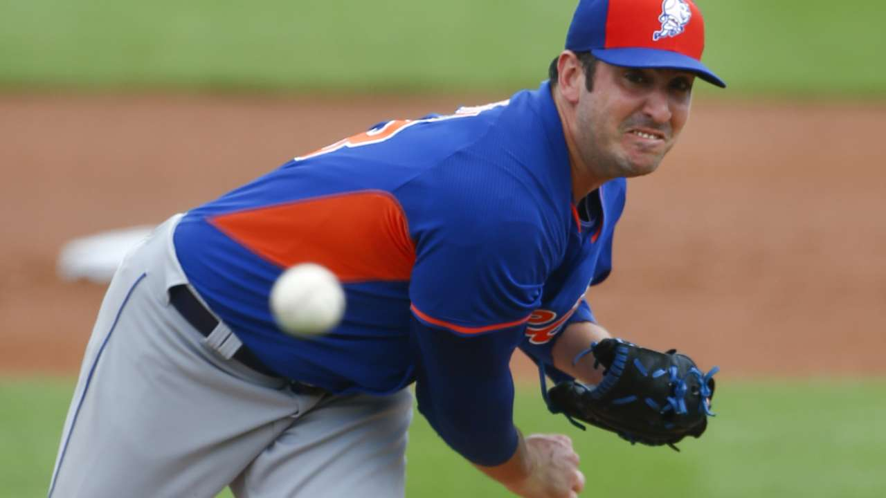 Harvey tosses 49-pitch outing
