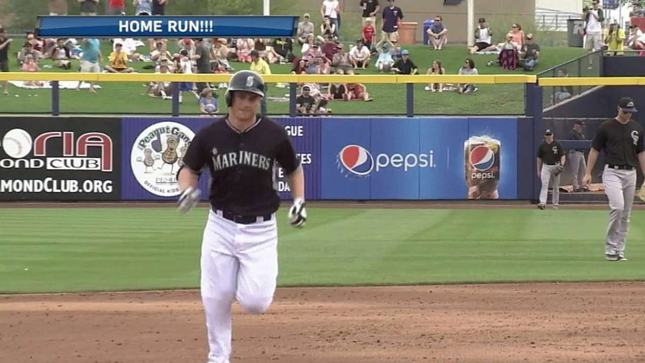 Seager homers, Hultzen returns in Mariners' loss