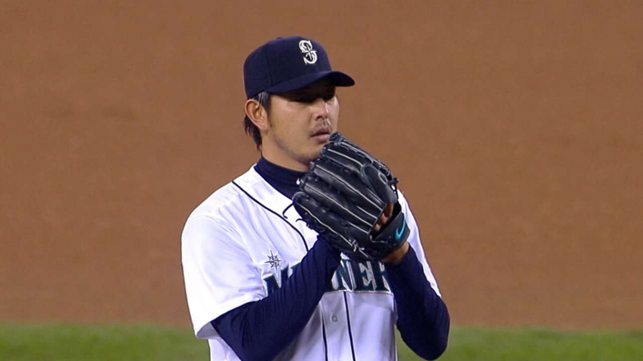 Iwakuma throws two scoreless frames in final spring tuneup