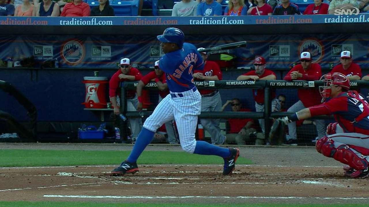 Bats back deGrom, post nine-run eighth to outslug Nats