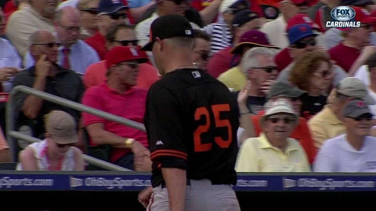 Norris' spring struggles continue as O's fall to Cardinals