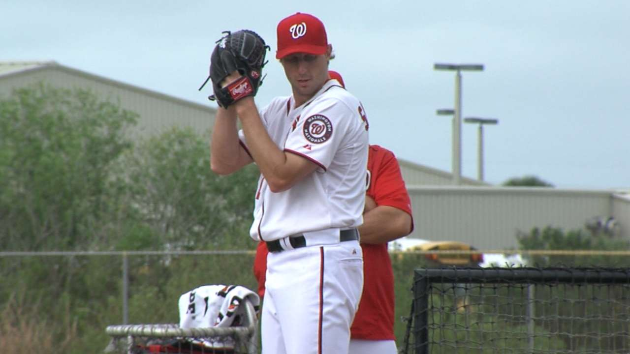 Williams sets Nationals' rotation behind Scherzer