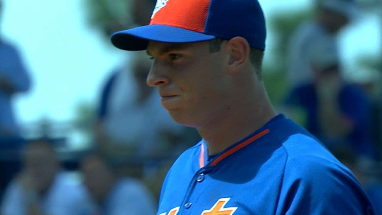 Matz gets optioned to Minors after solid start vs. Tigers