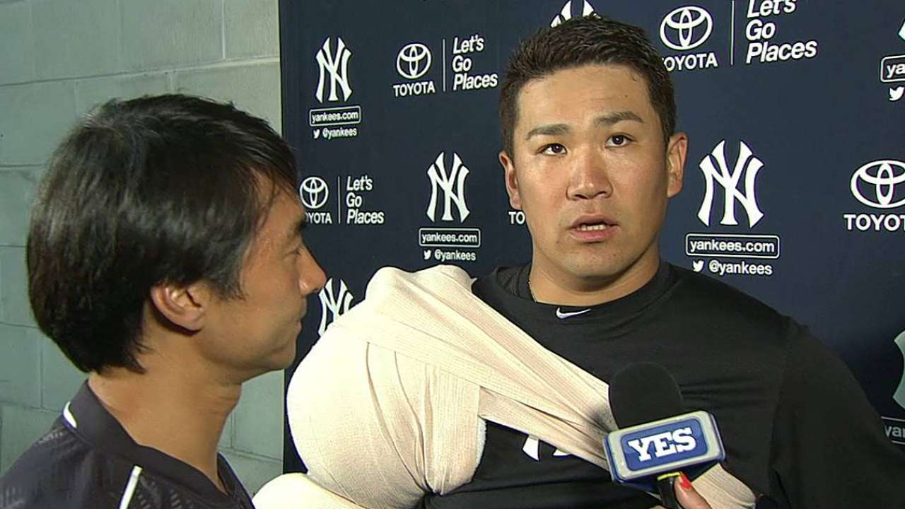 Tanaka on first outing