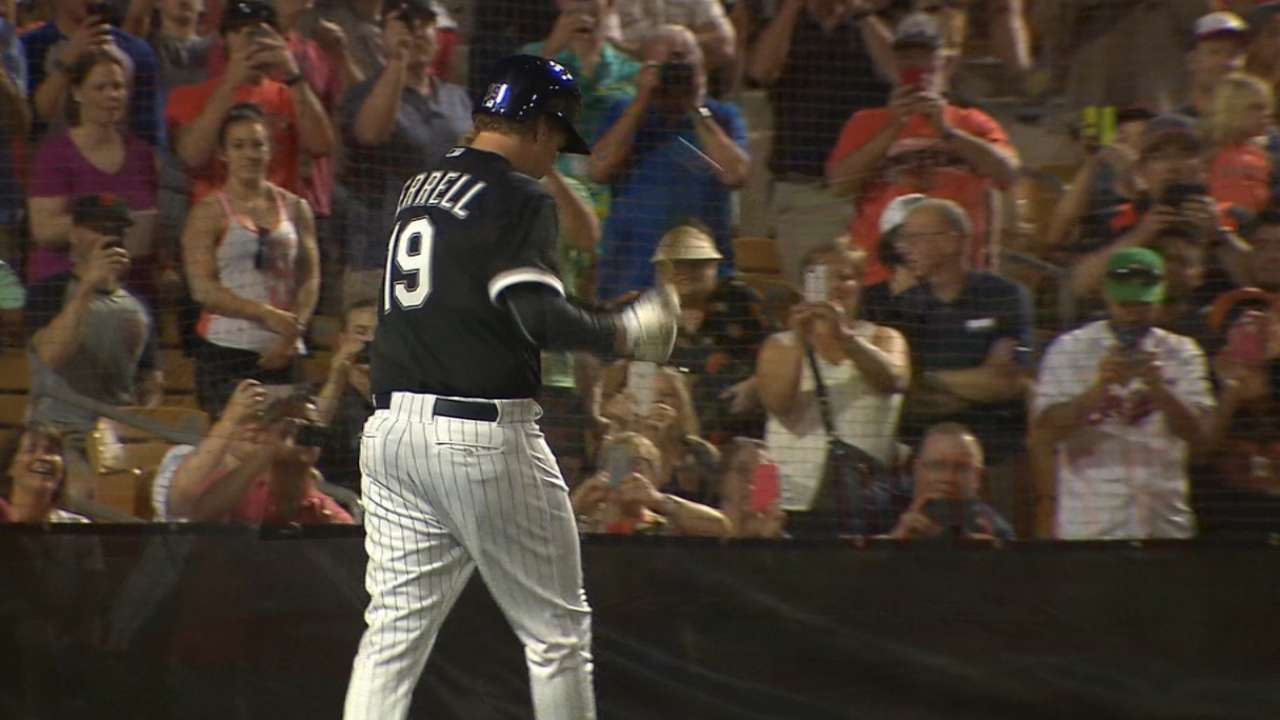 Where there's a Will: Ferrell's foul ball steals the show