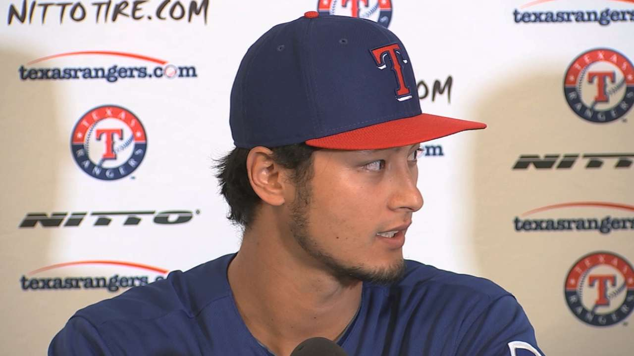 Darvish to have Tommy John surgery on Tuesday