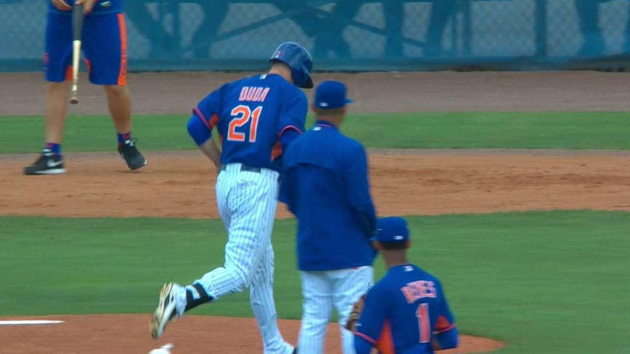 Duda's power key for Mets this season