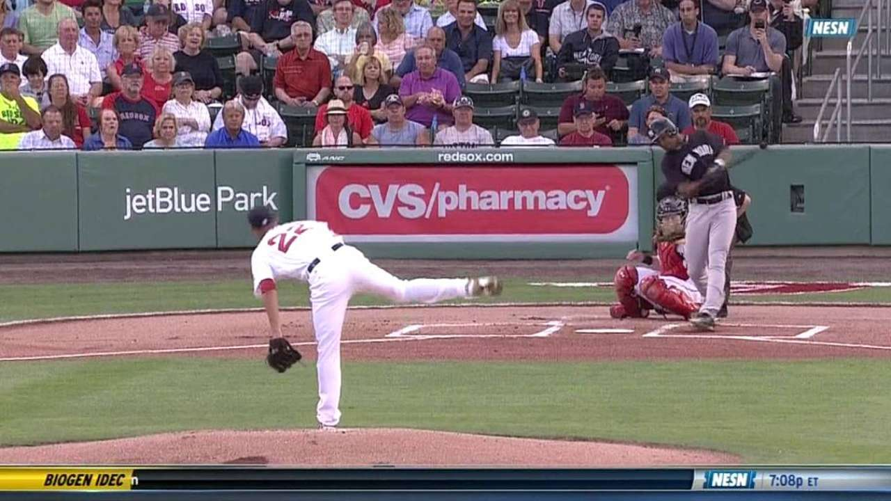 Porcello whiffs Young
