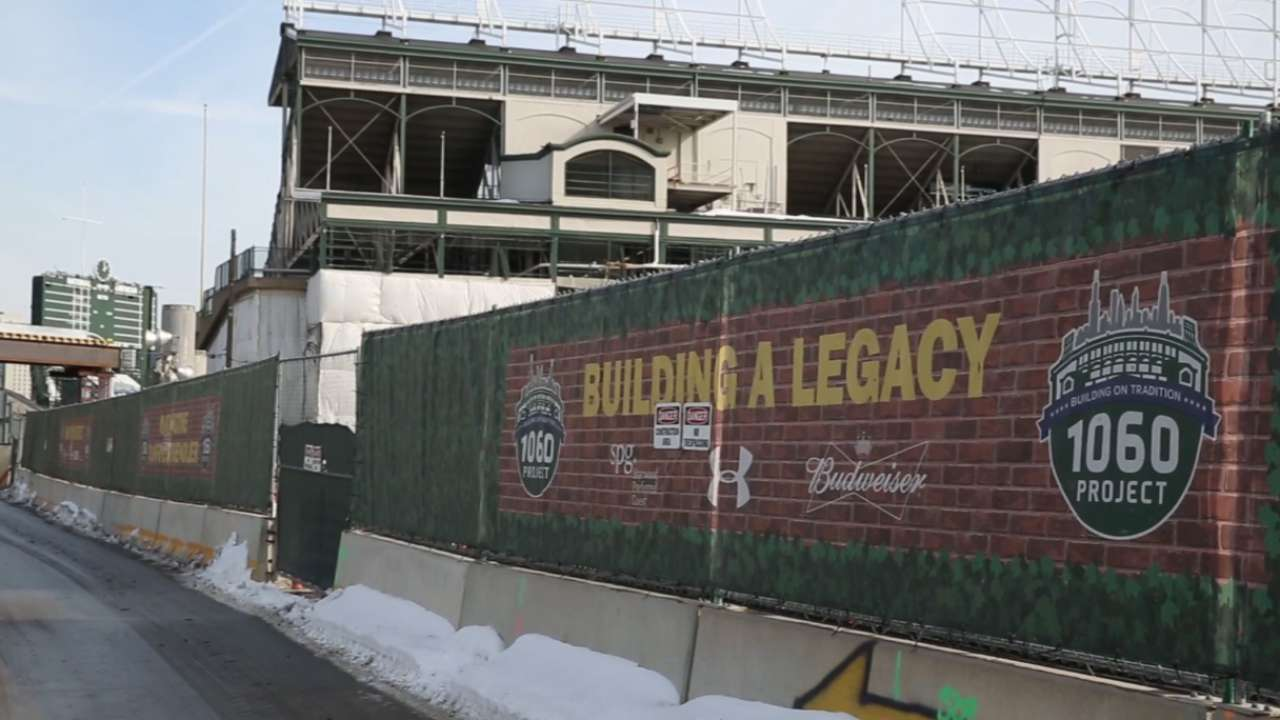Maddon, players excited for new-look Wrigley