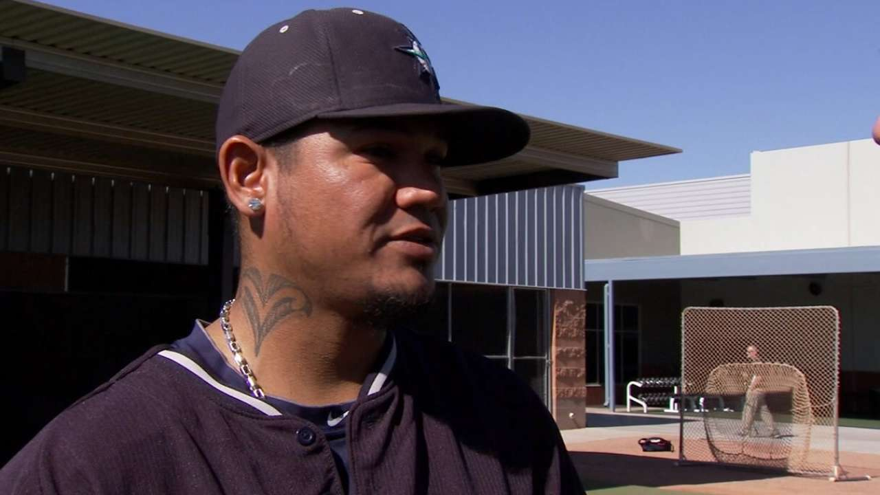 Felix pleased with tuneup in intrasquad game