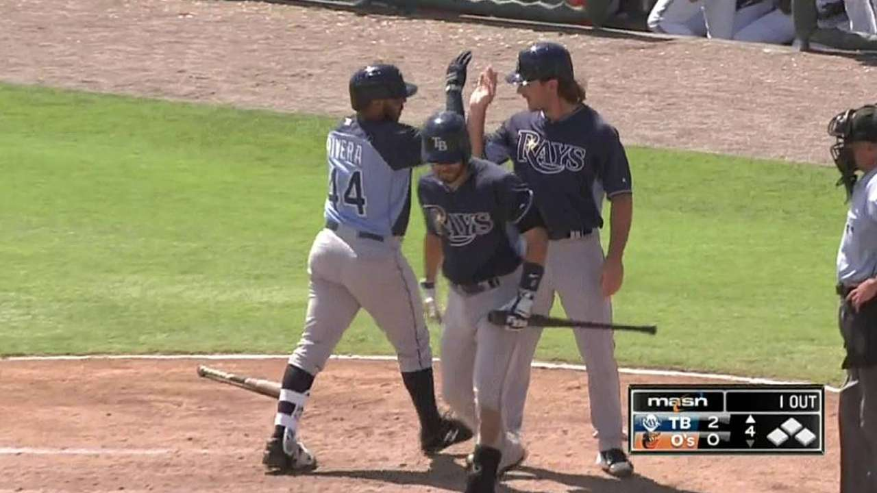 Rays believe Rivera can be special behind the plate