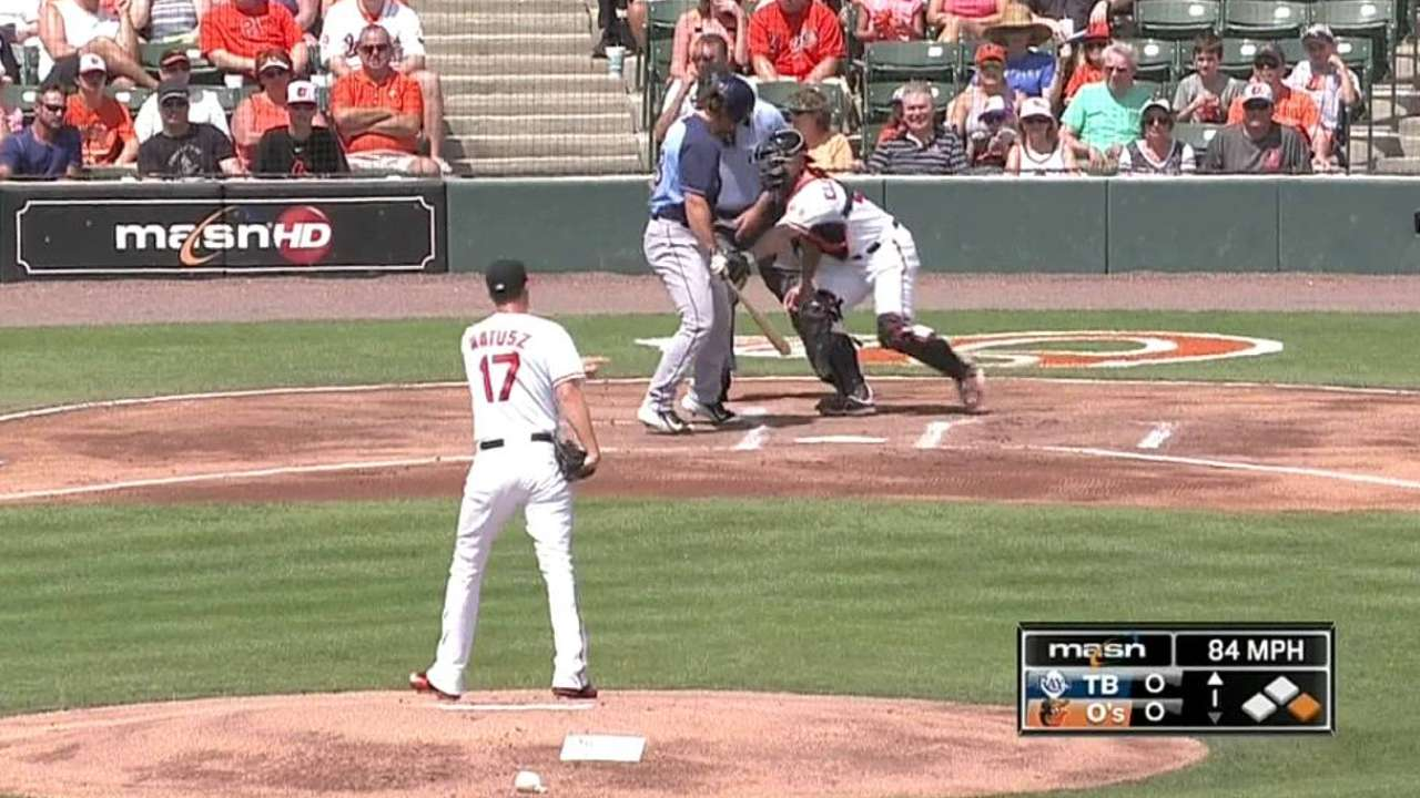 Matusz gets chance to start on Friday vs. Red Sox