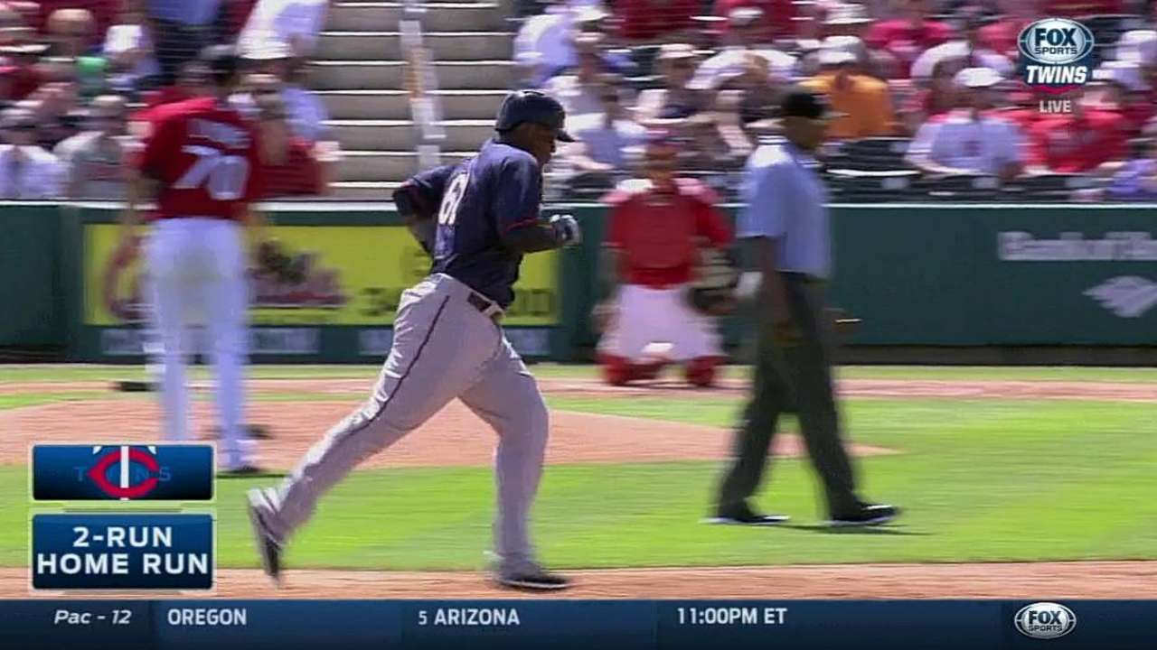 Sano's monster home run boosts Twins against Cardinals