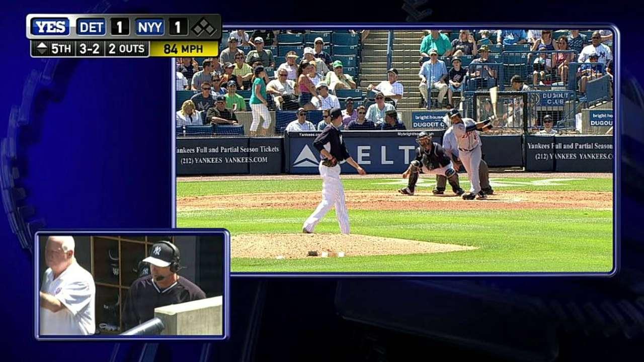 Miller strikes out Machado