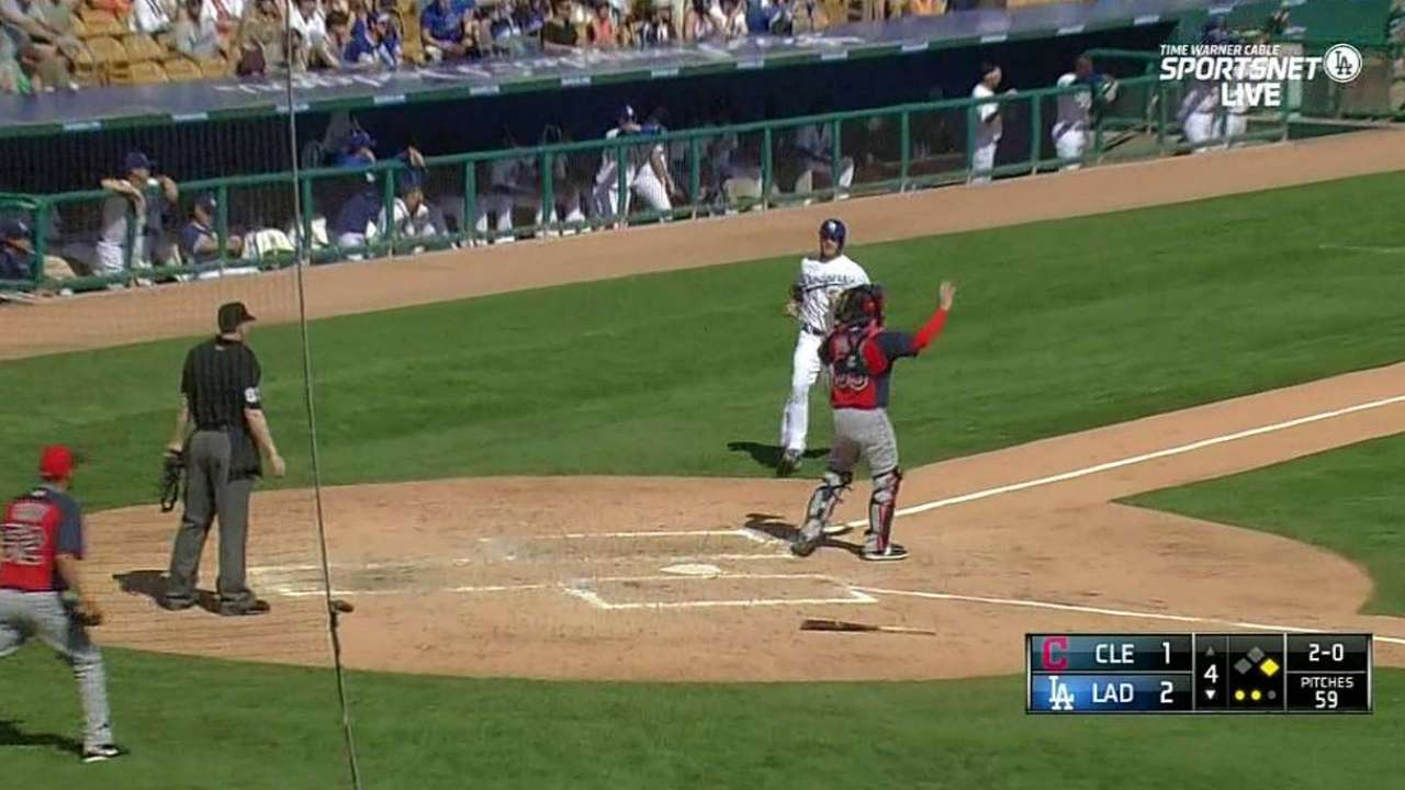 Rollins' RBI double