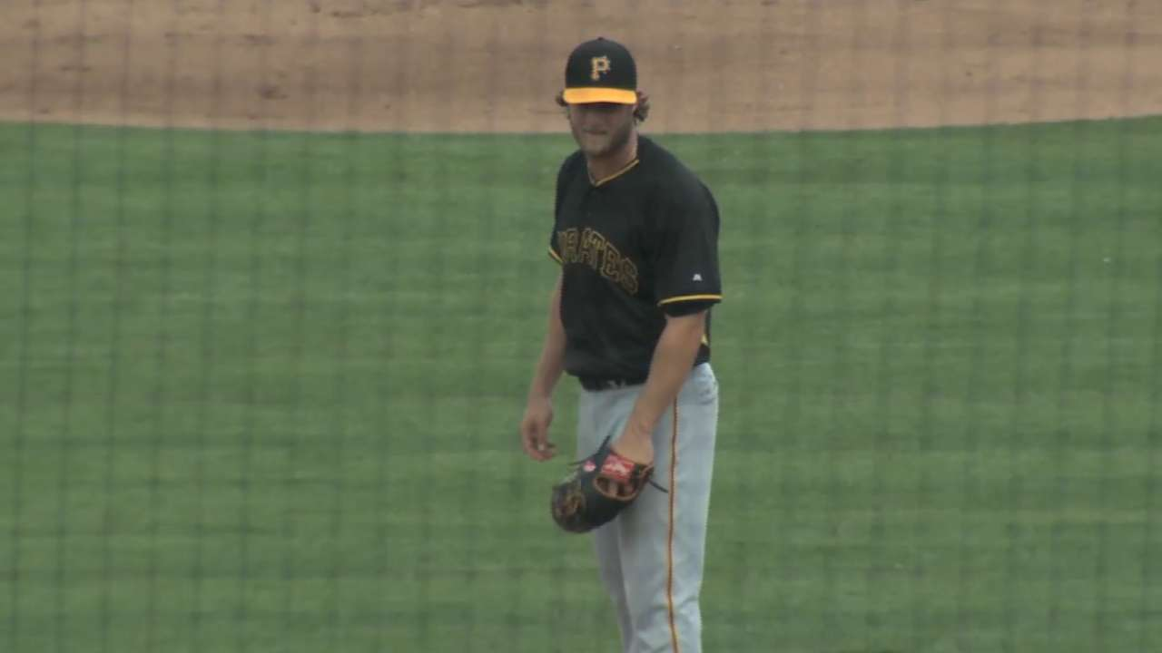 Cole feeling good after longest outing of spring