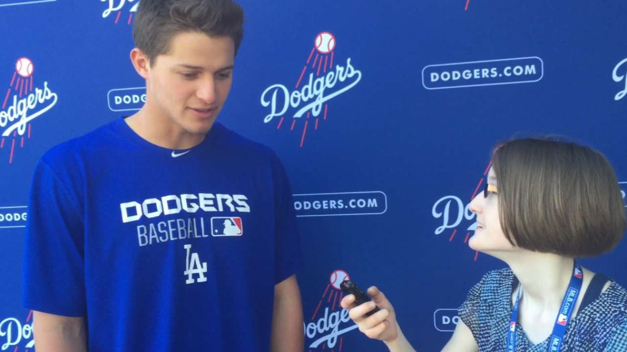 Big league camp a learning experience for Seager
