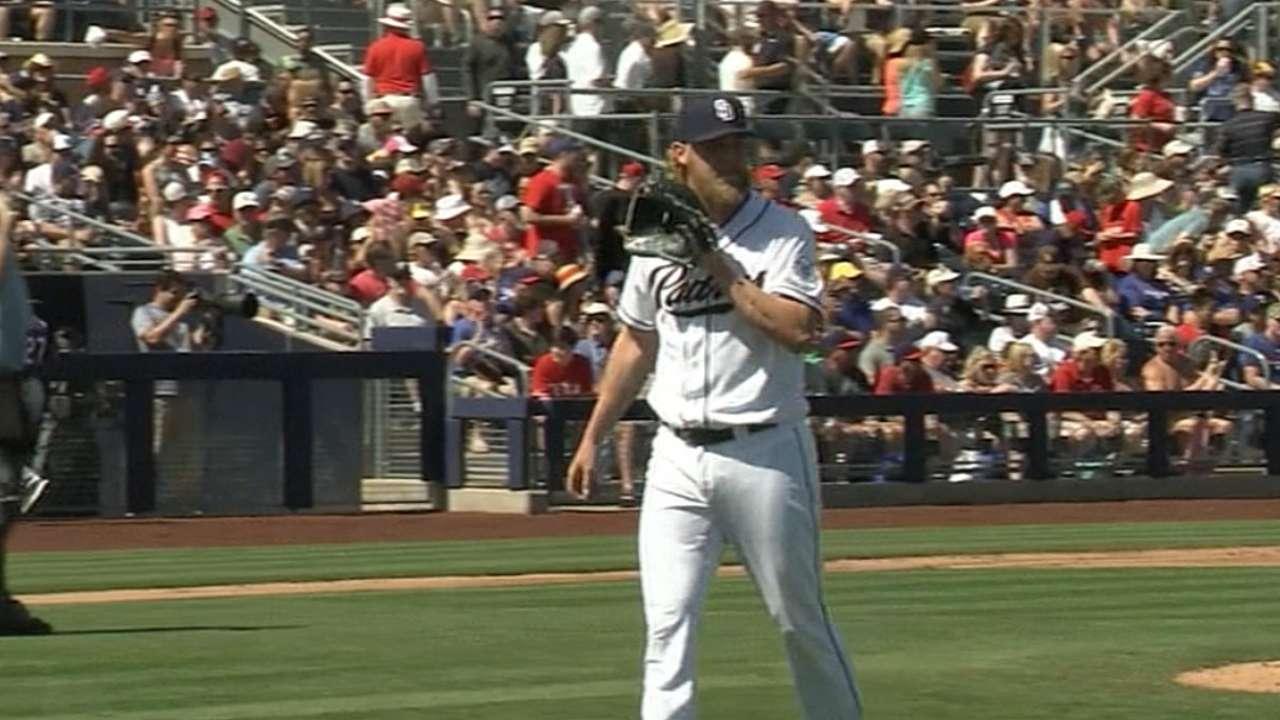 Cashner's four shutout innings