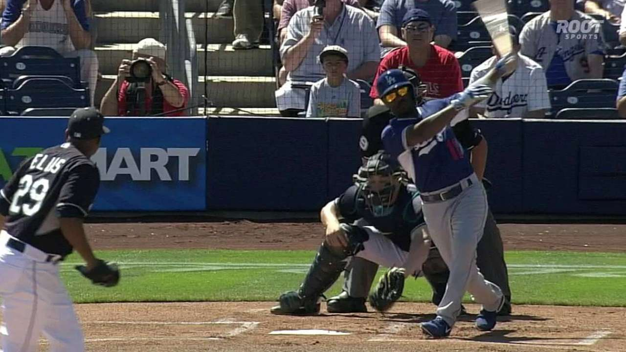 Mariners offense held in check vs. Dodgers
