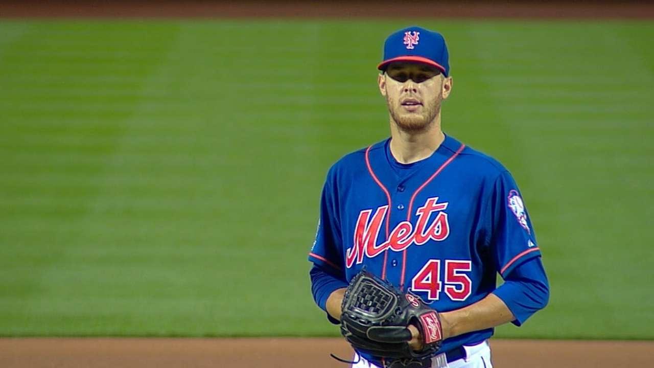 Pitching depth saving Mets after Wheeler injury