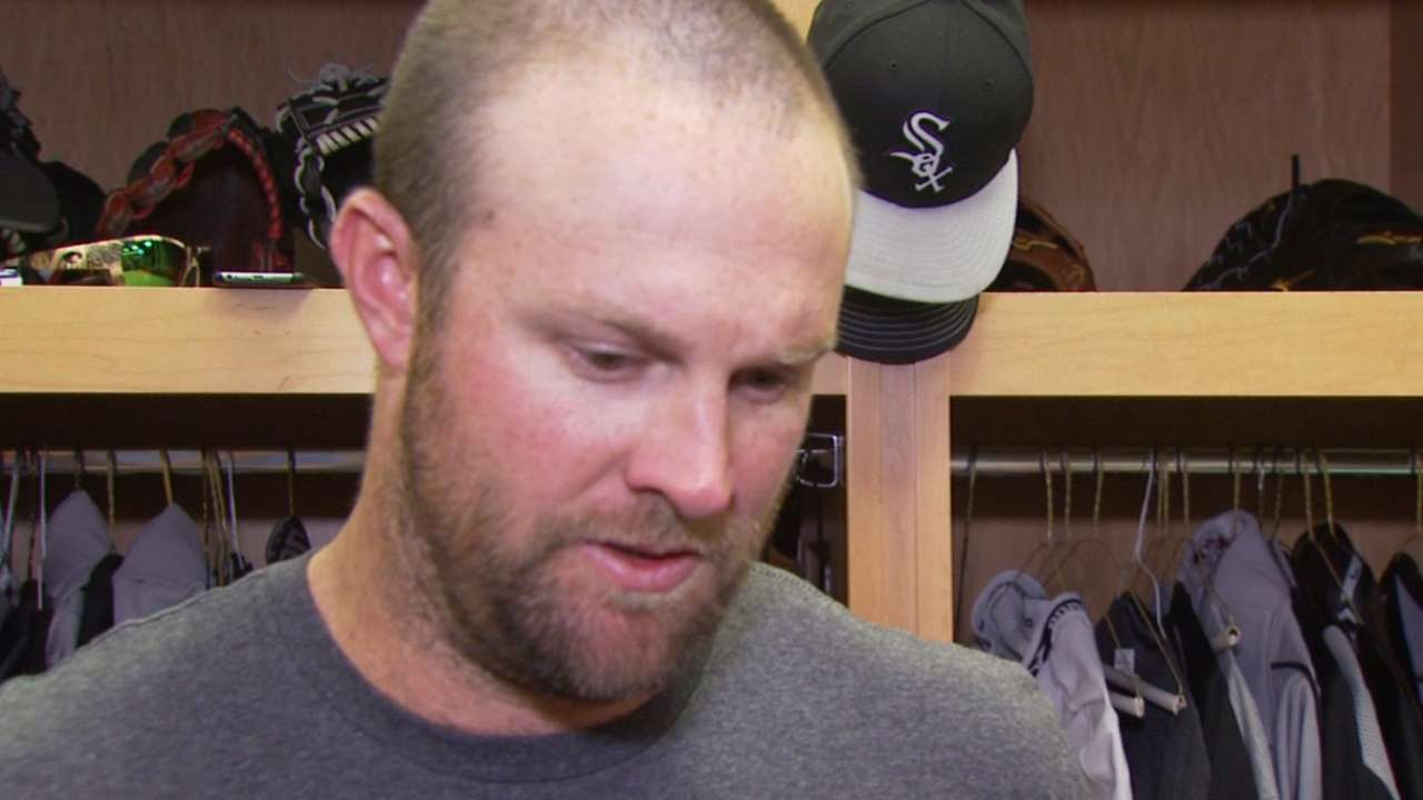 Danks complimented by comparison with old pal Buehrle