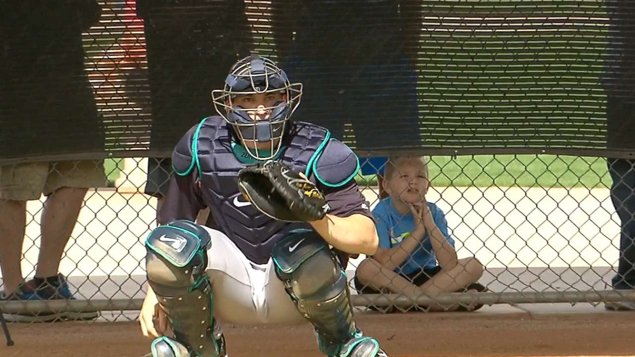 Zunino's work at the plate paying dividends this spring