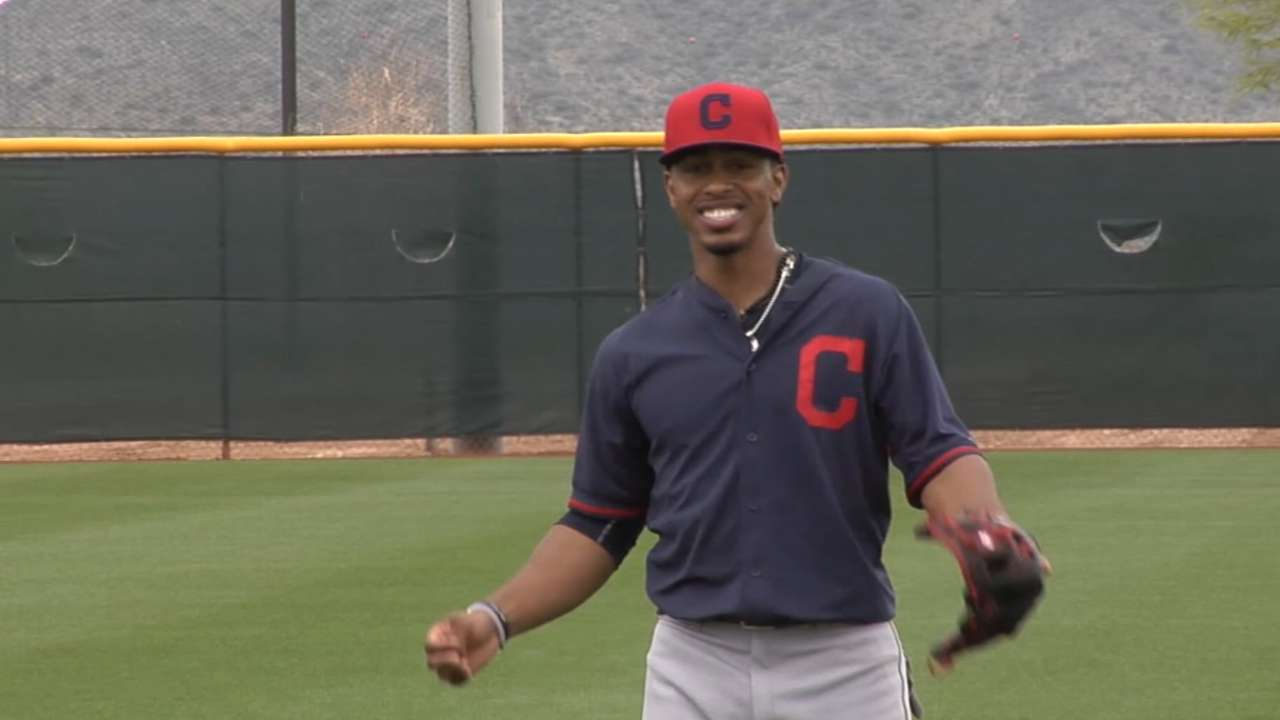 Indians top prospect Lindor sent down after great camp